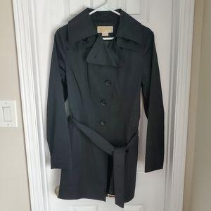 Michael Kors EUC Black Trench Coat